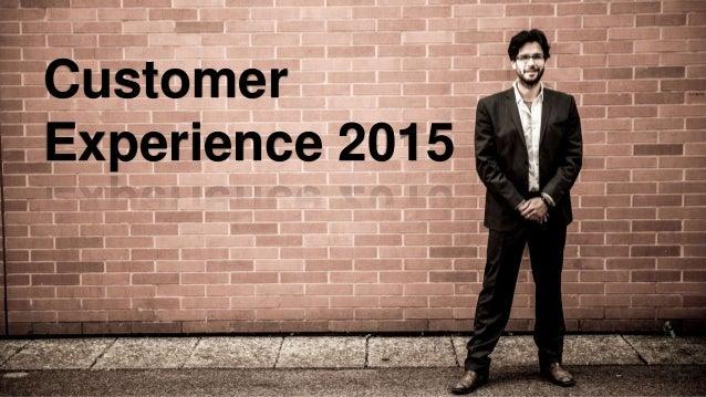 Customer Experience 2015