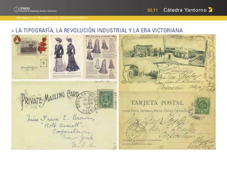DG.Y1 TIPOGRAFÍA: LA TIPOGRAFÍA Y EL CONTEXTO HISTÓRICO> La Tipografía, la Revolución Industrial y la Era Victoriana