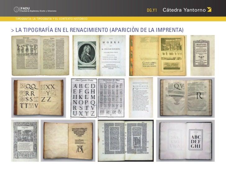 DG.Y1 TIPOGRAFÍA: LA TIPOGRAFÍA Y EL CONTEXTO HISTÓRICO> La Tipografía en el Renacimiento (aparición de la imprenta)