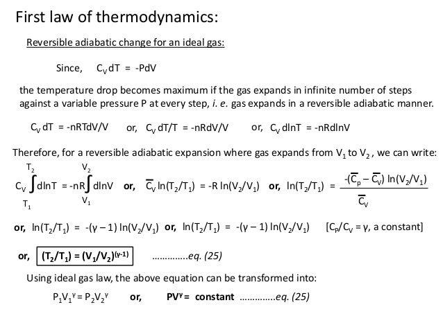 cy101 thermodynamics
