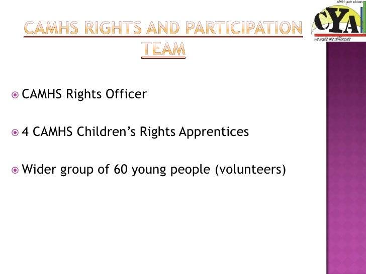 CAMHS Youth Advisors  Slide 2