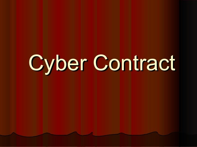 Cyber Contract