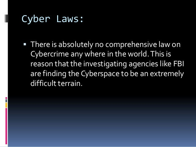 thesis statement on cyber crime Computer forensics world: forums i am just starting a masters in computer forensics and have to get an idea for a topic to do my thesis on.