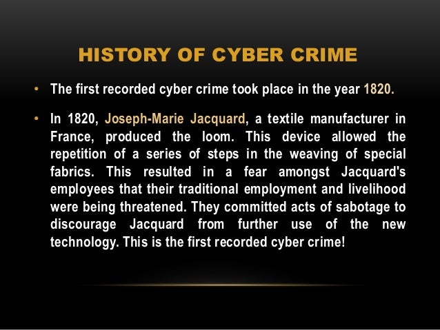 cybercrime and traditional crime There is a large degree of consistency between computer cybercrime and traditional crime although different from the traditional crime in the means and form of.