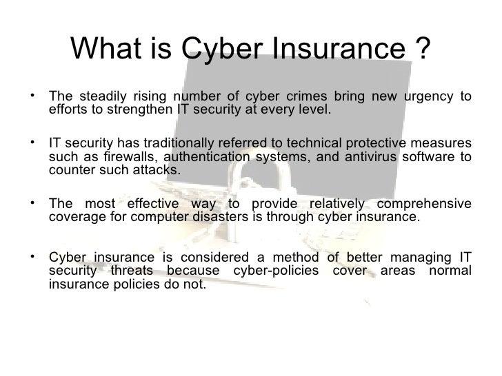 cyber insurance temp