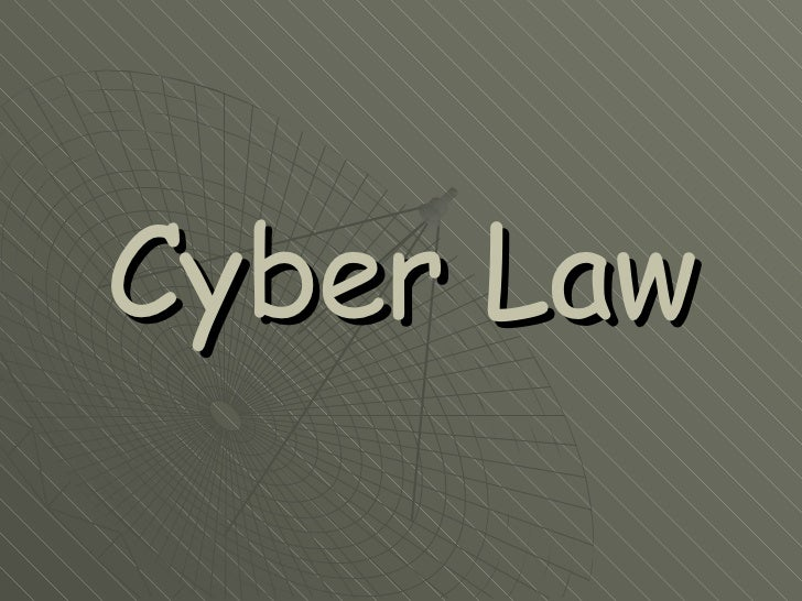 cyber law essay Read cyber law free essay and over 88,000 other research documents cyber law overview cyber law is a new phenomenon having emerged much after the onset of.
