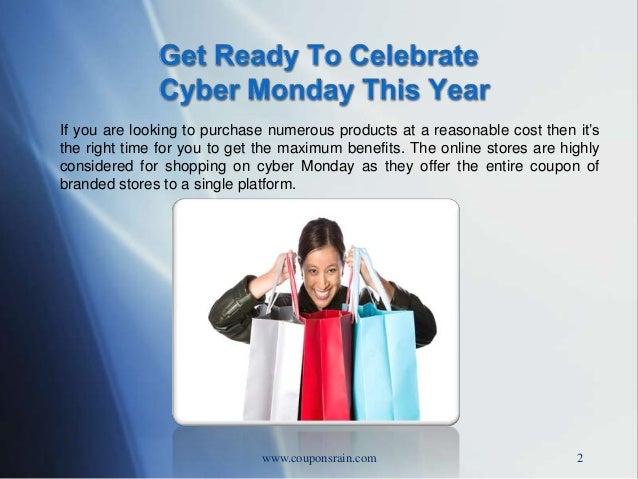 Cyber monday-couponsrain-com Slide 2