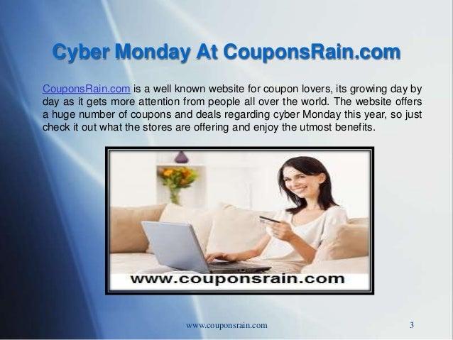 Cyber monday-couponsrain-com Slide 3