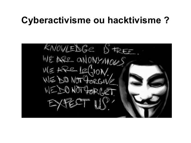 Cyberactivisme ou hacktivisme?