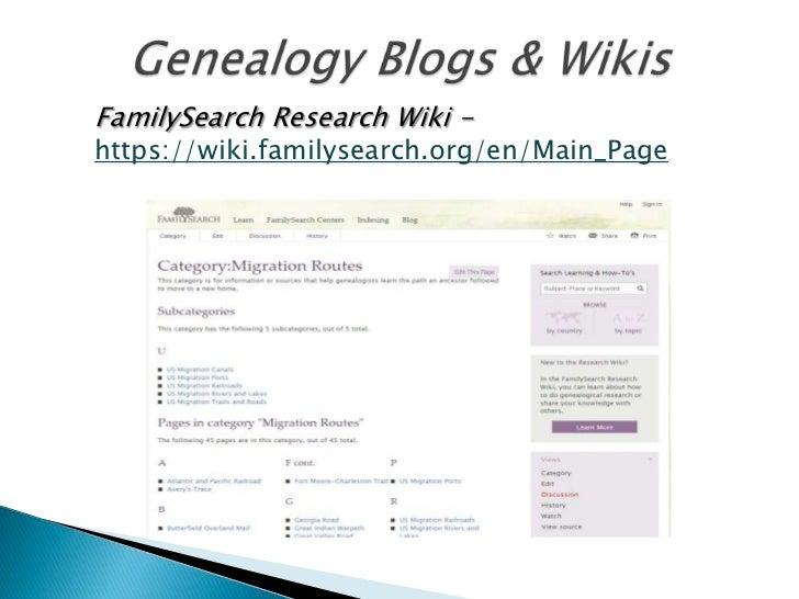 Cyberage genealogy
