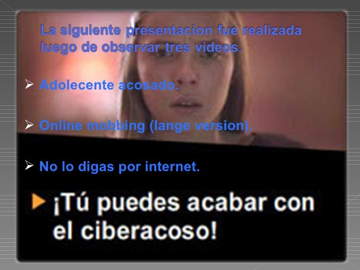 Cyberbulling Slide 2