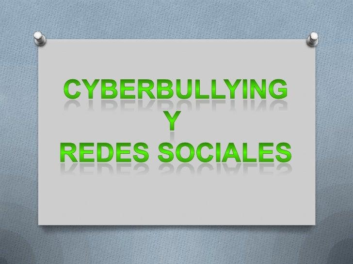 """CyberBullying        El CiberAcoso también llamado CyberBullying """"intimidación de forma electrónica""""; es        una conduc..."""