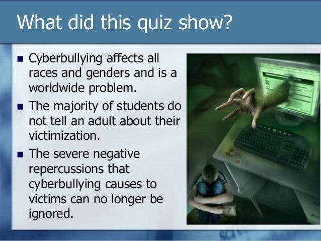 What year did cyberbullying start