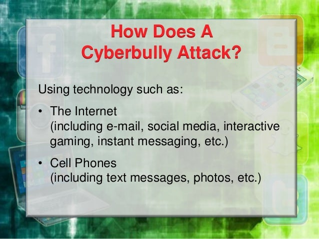 When cyber bullying started