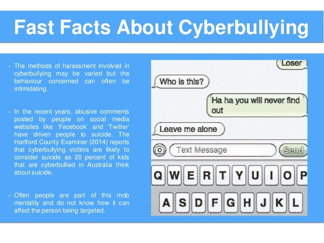 CYBER BULLYING FACTS PDF