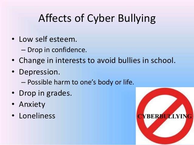 How bullying affects self esteem