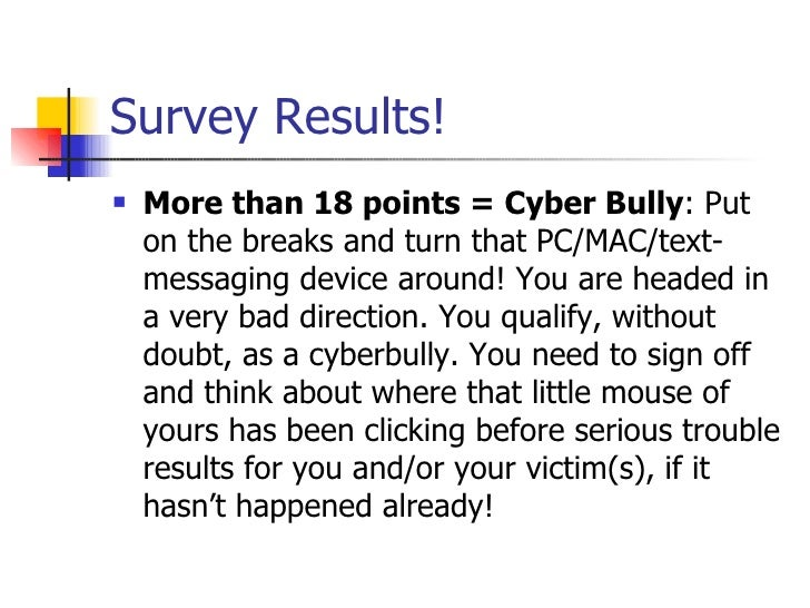 Cyber bullying affects