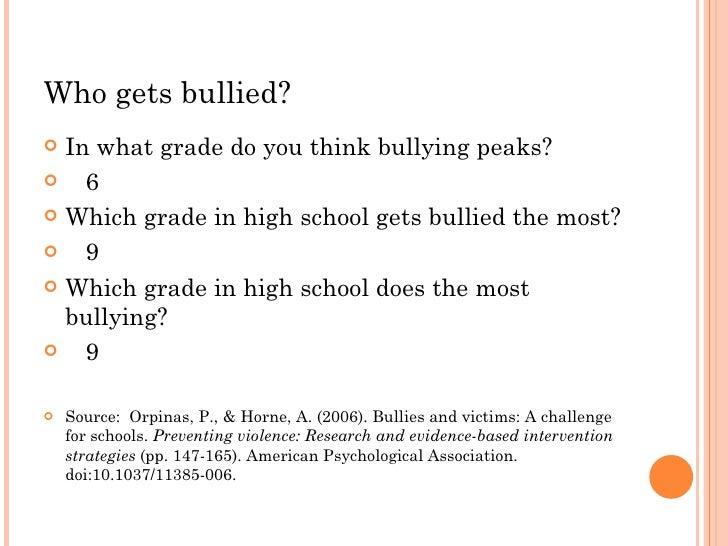 Cyberbullying class 97