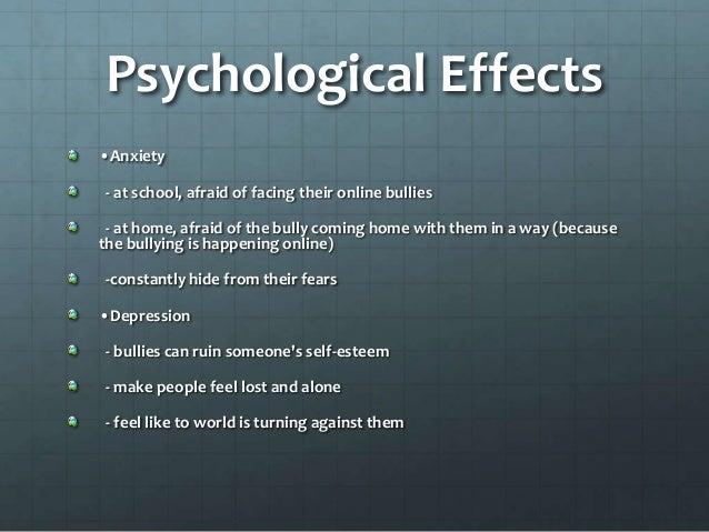 Cyberbullying effects