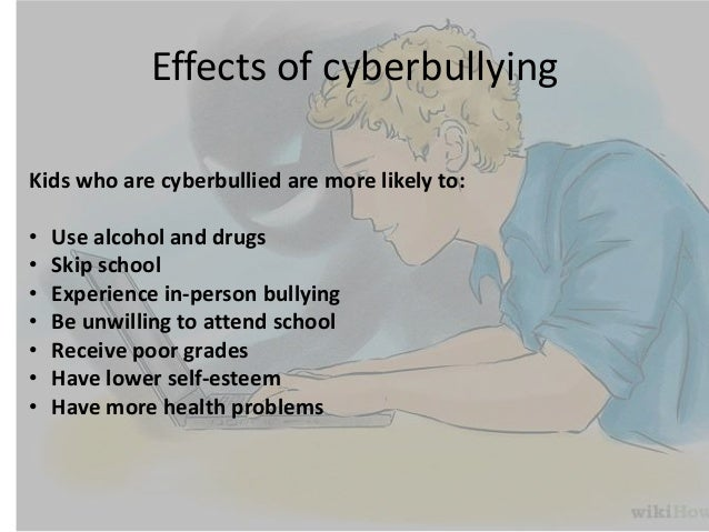 the causes and harmful effects of cyber bullying Physical bullying is a serious effects of bullying physical bully there are many types of negative physical interactions that can occur between young.