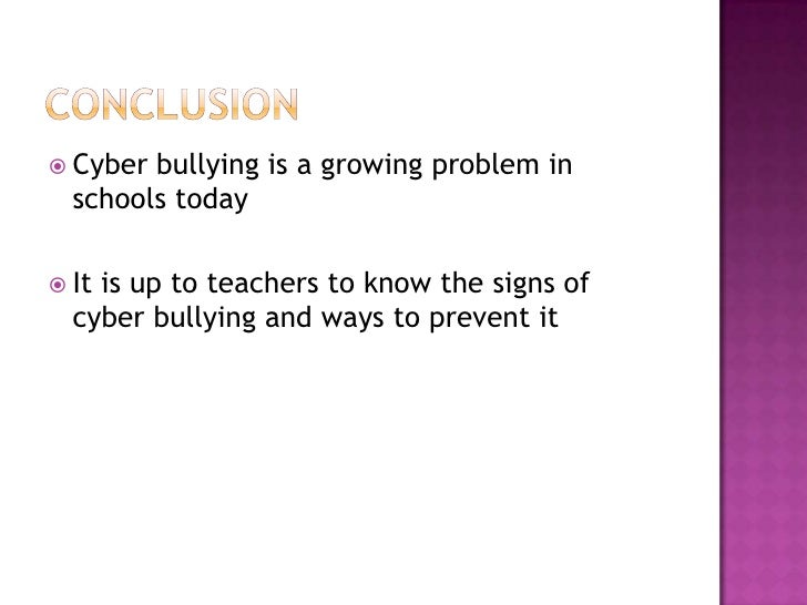 how to stop cyber bullying in schools