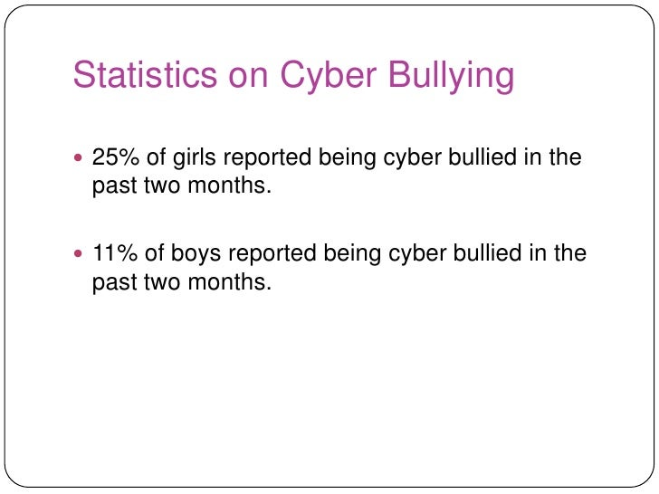 school involvement with cyber bullying Elevated proportions of students are involved in cyber and school-bullying •  cyber and school bullying overlap very little • more than half of students  engaged.