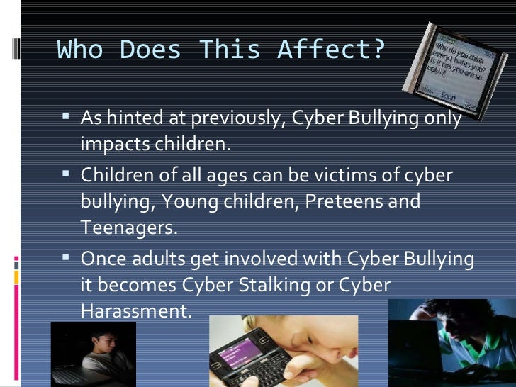 Bullying and how it affects the