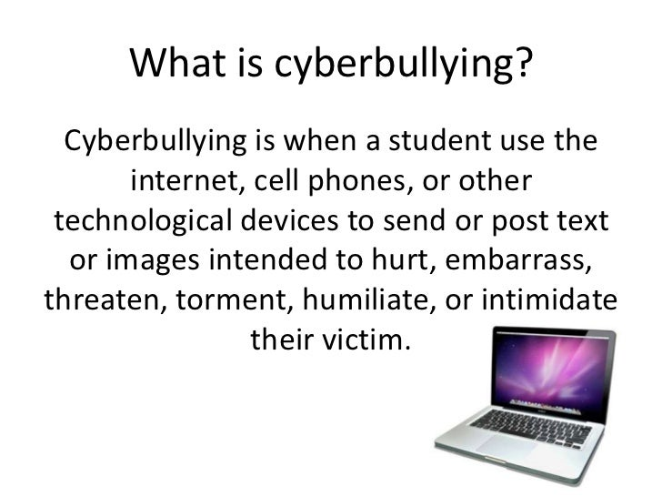 cyberbullying powerpoint cyberbullying by josie day 2