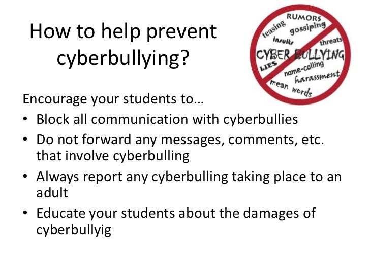 10 Actions to Prevent and Stop Cyberbullying