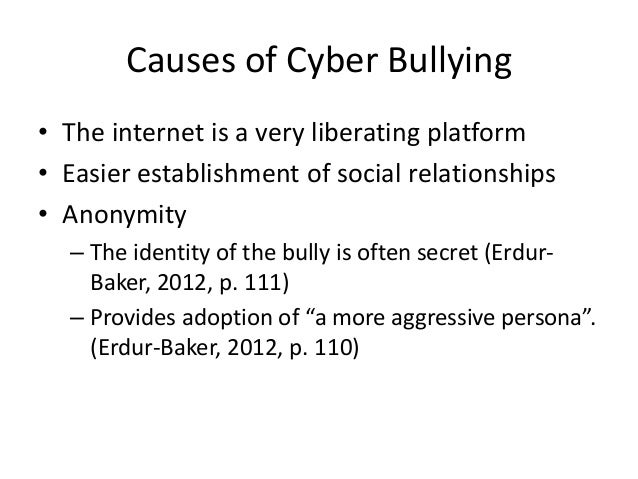 Cause and Effect of Bullying Essay Sample