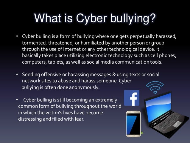 Bully bullying and social networking sites