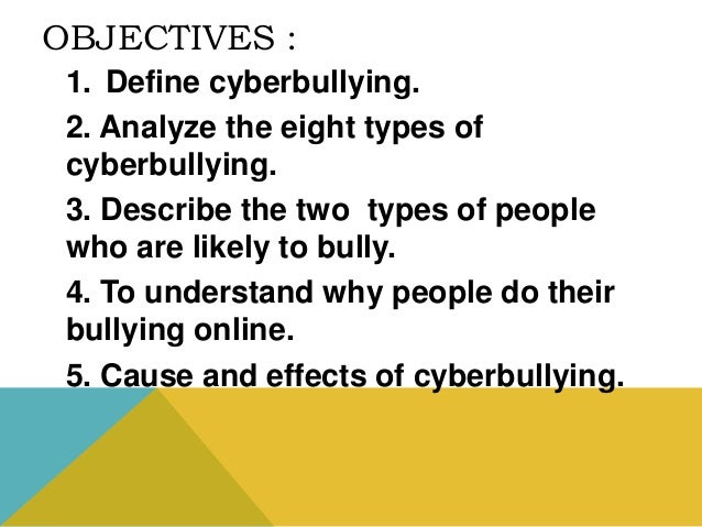 cause and effect of bullying Bullying in school and its effects to the students' essay  bullying in school and its effects on  wiki/542c3/causes_and_effects_of_bullyinghtml 3.