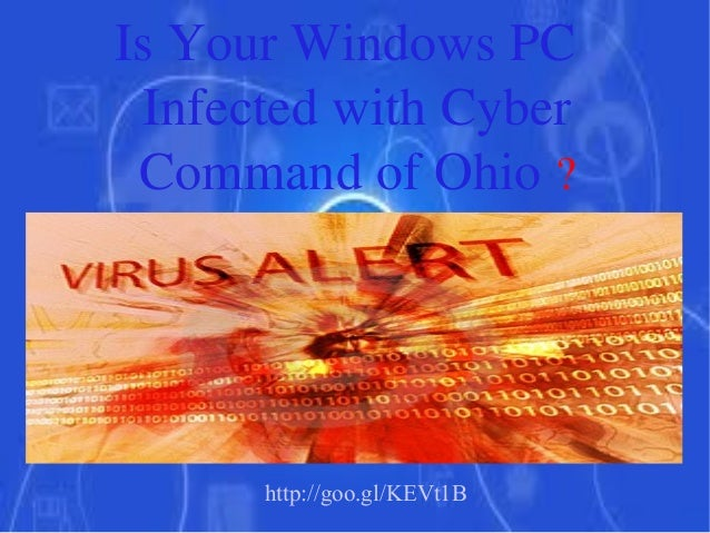Is Your Windows PC Infected with Cyber Command of Ohio ?  http://goo.gl/KEVt1B
