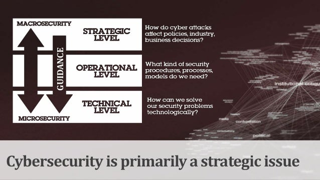 """""""Cyberwar"""" should be used carefully… …not separated from the context of War"""