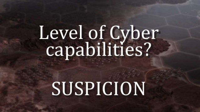 ELEMENTS OF CYBER DETERRENCE RESILIENCE ATTRIBUTION OFFENSE