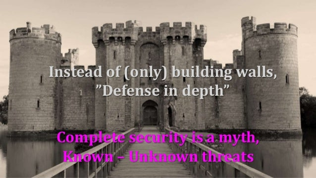 Ability to change and resilience create security. Not constancy.