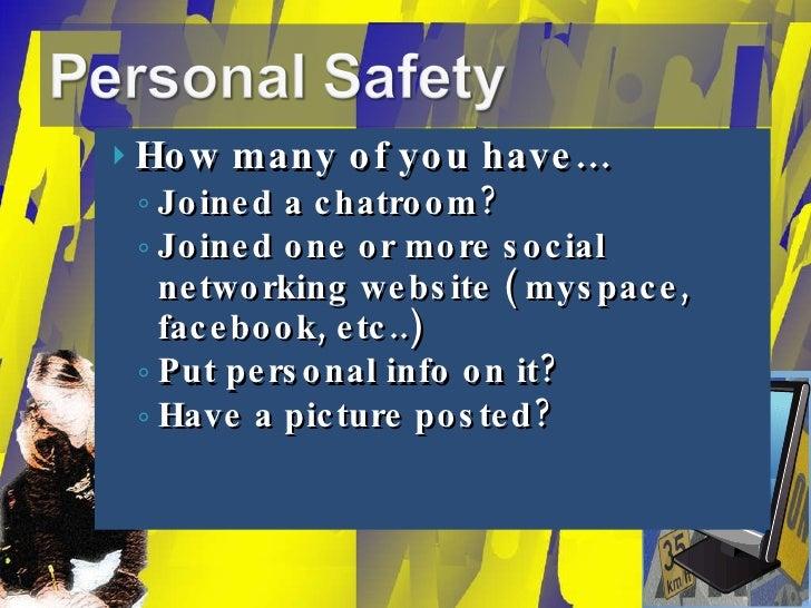 <ul><li>How many of you have… </li></ul><ul><ul><li>Joined a chatroom? </li></ul></ul><ul><ul><li>Joined one or more socia...