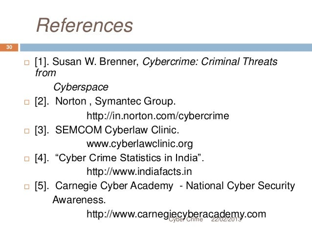 cybercrime criminal threats from cyberspace pdf