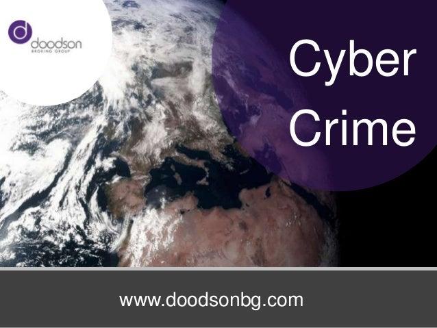 Cyber               Crimewww.doodsonbg.com