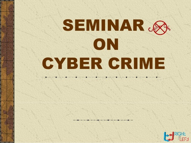 3 minutes speech on cyber crime