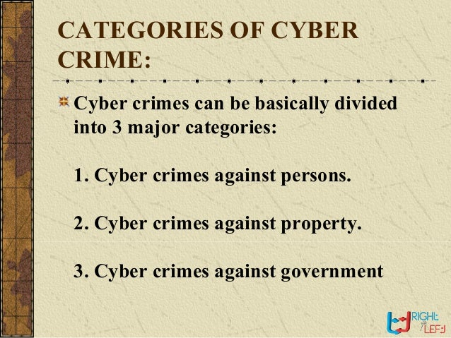 Cyber Crime Seminar PPT with pdf report