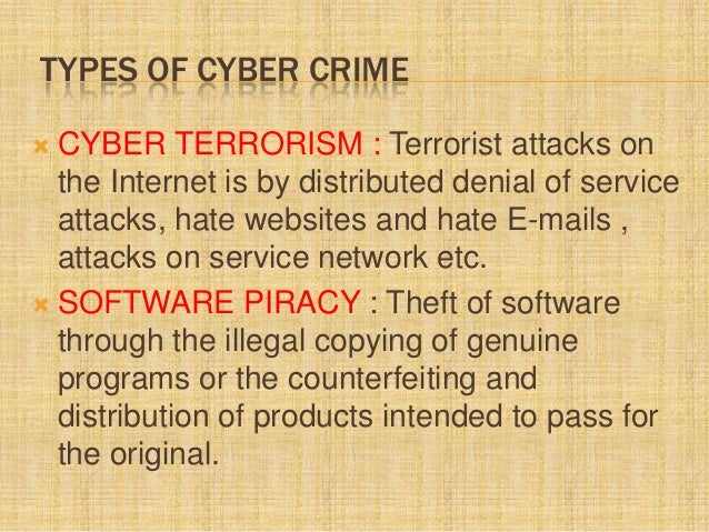 cybercrime ppt cyber crimes