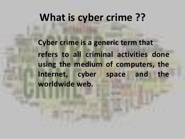 cyberterrorism introduction Cyber terrorism poses threat to national security cyber terrorism is thus a stepping stone introduction cyber terrorism has been defined in many ways but.