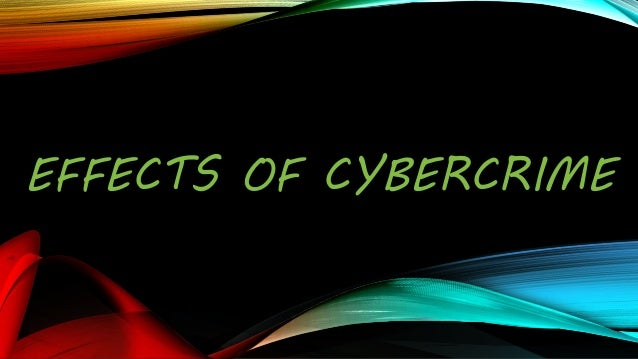 Cyber crime productivity 12 loss of revenue one of the main effects of cyber crime sciox Images
