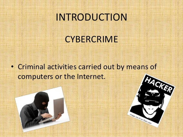 an introduction to computers and crime Introduction computer crime and those individuals who engage in this deviant  behavior have become a part of our digital society (caloyannides, 2001 casey.