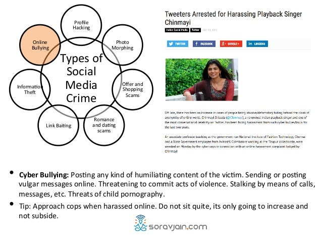 7 Cyber Crimes on Social Media Against Women [India]