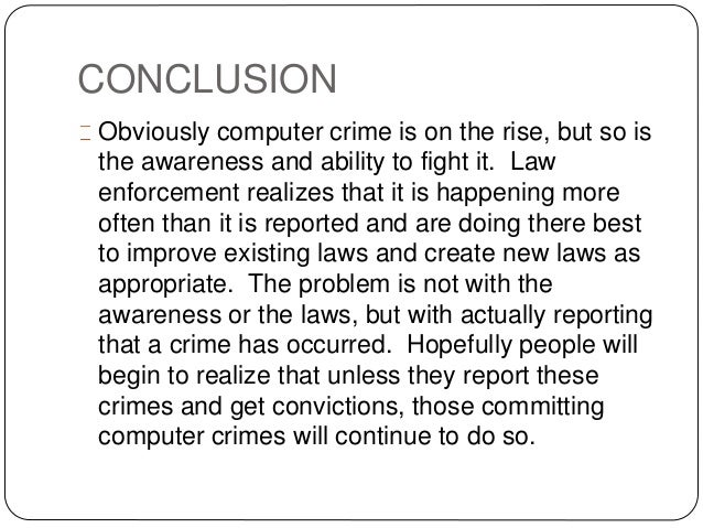 Cyber Crime And Cyber Laws