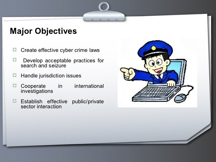 the problems of the internet crime and the necessity for computer related laws (2) computer-related crime occurs at great cost to the public since losses for each incident of computer crime tend to be far greater than the losses associated with each incident of other white collar crime.