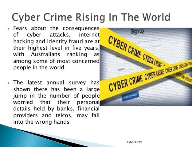 "cyber crime the internet and the evolution of crime The evolution of the internet created fresh opportunities for criminals,  early in  the age of the internet, it was described as ""computer crime."