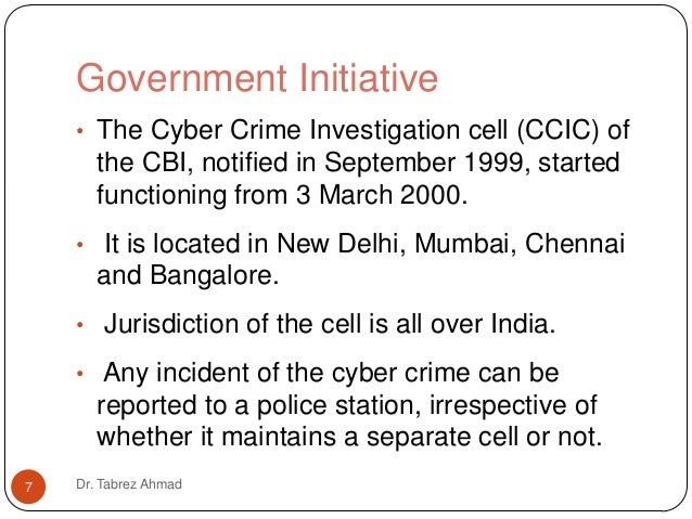 Essay on Cyber Crime in India